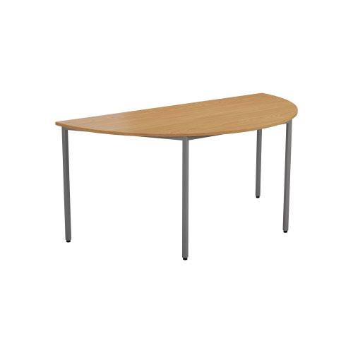 1600 X 800 Semi-Circular Multipurpose 18mm Table Desktop Nova Oak