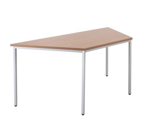 1600 X 800 Trapazoidial Multipurpose 18mm Table Desktop Beech - Version 2
