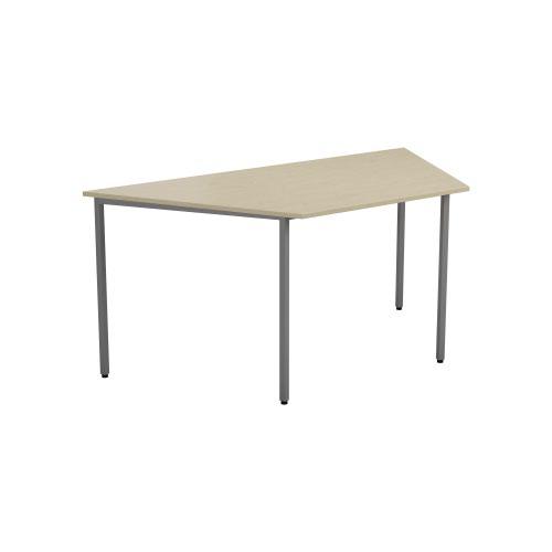1600 X 800 Trapazoidial Multipurpose 18mm Table Desktop Maple