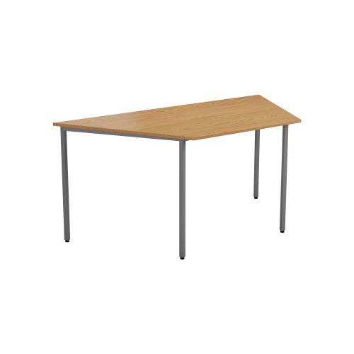 1600 X 800 Trapazoidial Multipurpose 18mm Table Desktop Nova Oak