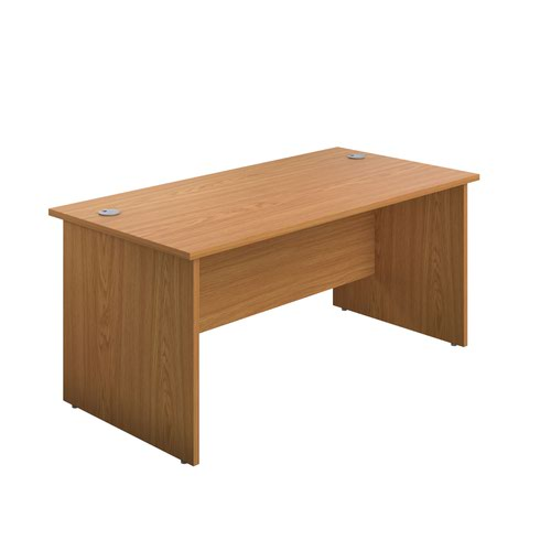 1200X800 Panel Rectangular Desk Nova Oak