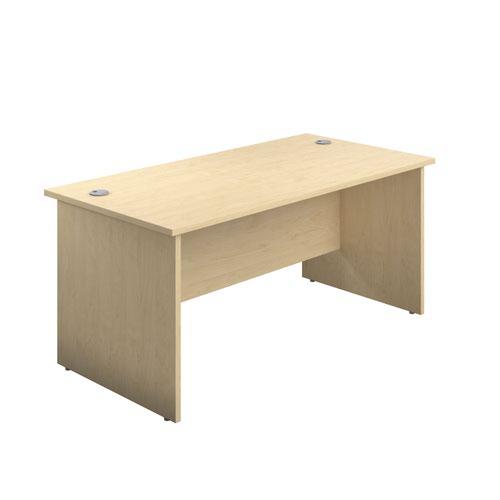 Image for 1400X800 Panel Rectangular Desk Maple