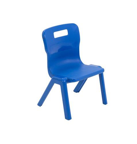 Titan One Piece Chair 260mm Blue