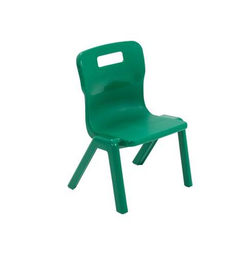 Titan One Piece Chair 260mm Green KF78504