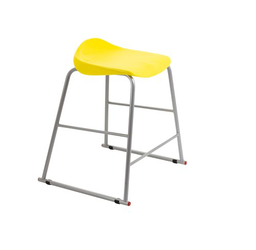 Image for Titan Stool Size 4 - 560mm Seat Height - Yellow
