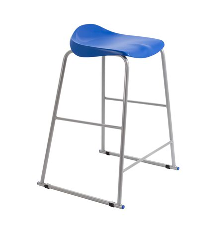Image for Titan Stool Size 6 - 685mm Seat Height - Blue