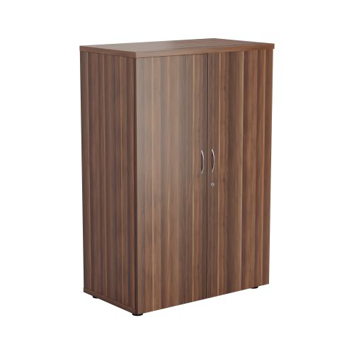 1200 Wooden Cupboard (450mm Deep) Dark Walnut