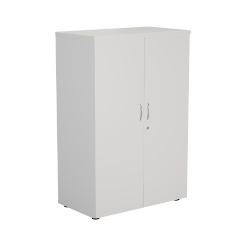 1200 Wooden Cupboard (450mm Deep) White