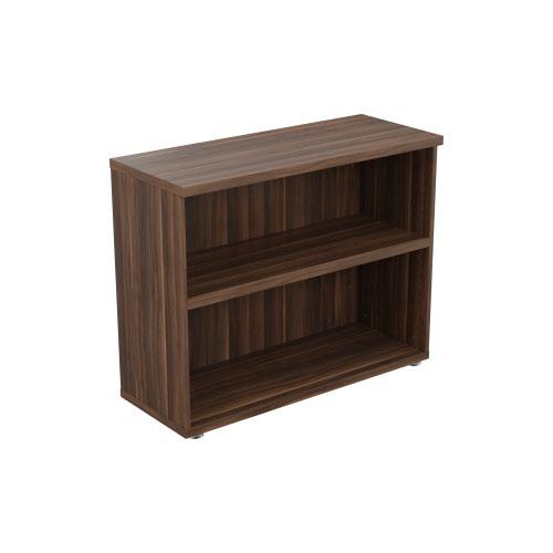 Regent 800mm Bookcase - Dark Walnut