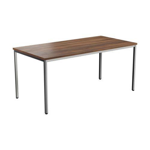 Summit Rectangular Meeting Table - Dark Walnut