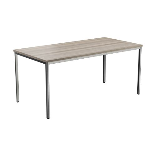 Summit Rectangular Meeting Table - Grey Oak