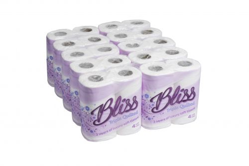 Bliss 3Ply Ultra Soft Luxury Toilet Rll