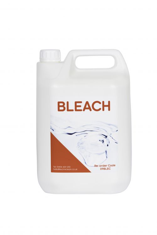 Tecman Premium Bleach 5 Litre Bottle Case 2 3P