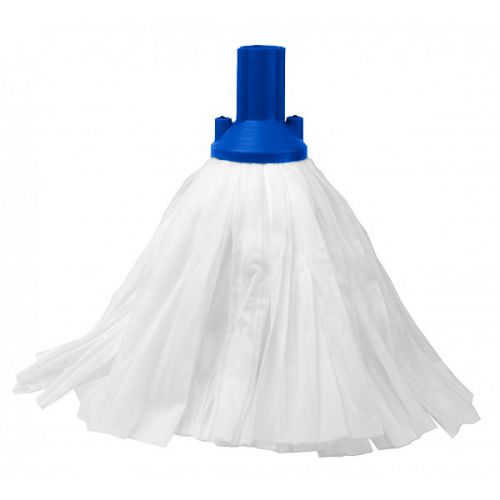 Big White Socket Mop Blue