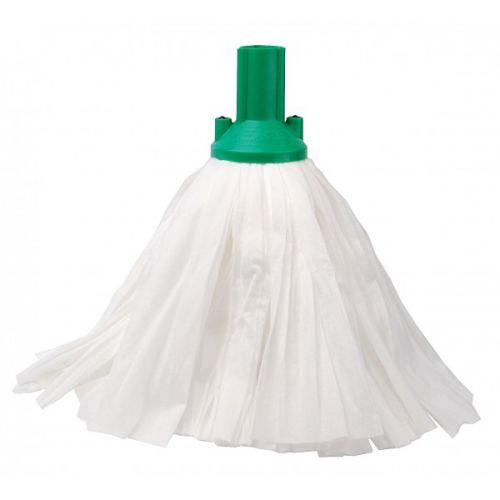 Big White Socket Mop Green