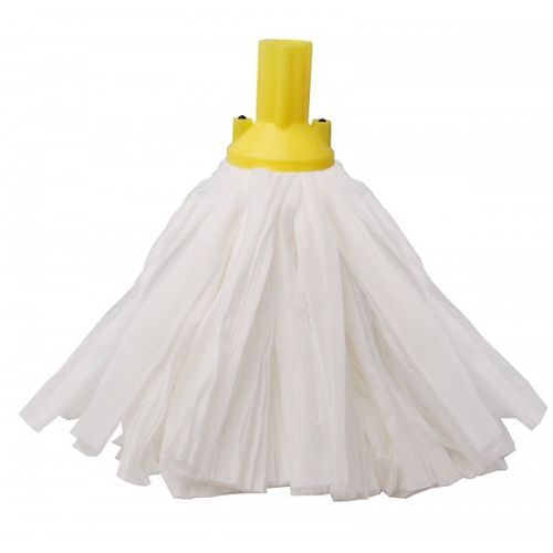 Big White Socket Mop Yellow