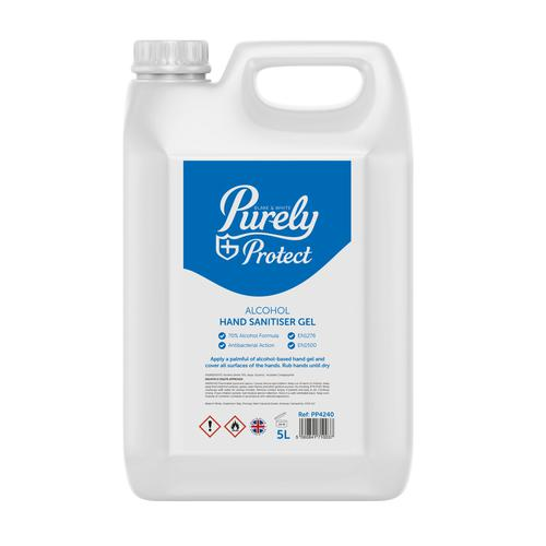 Purely Protect Hand Sanitiser 5 Litres (Pack 10)