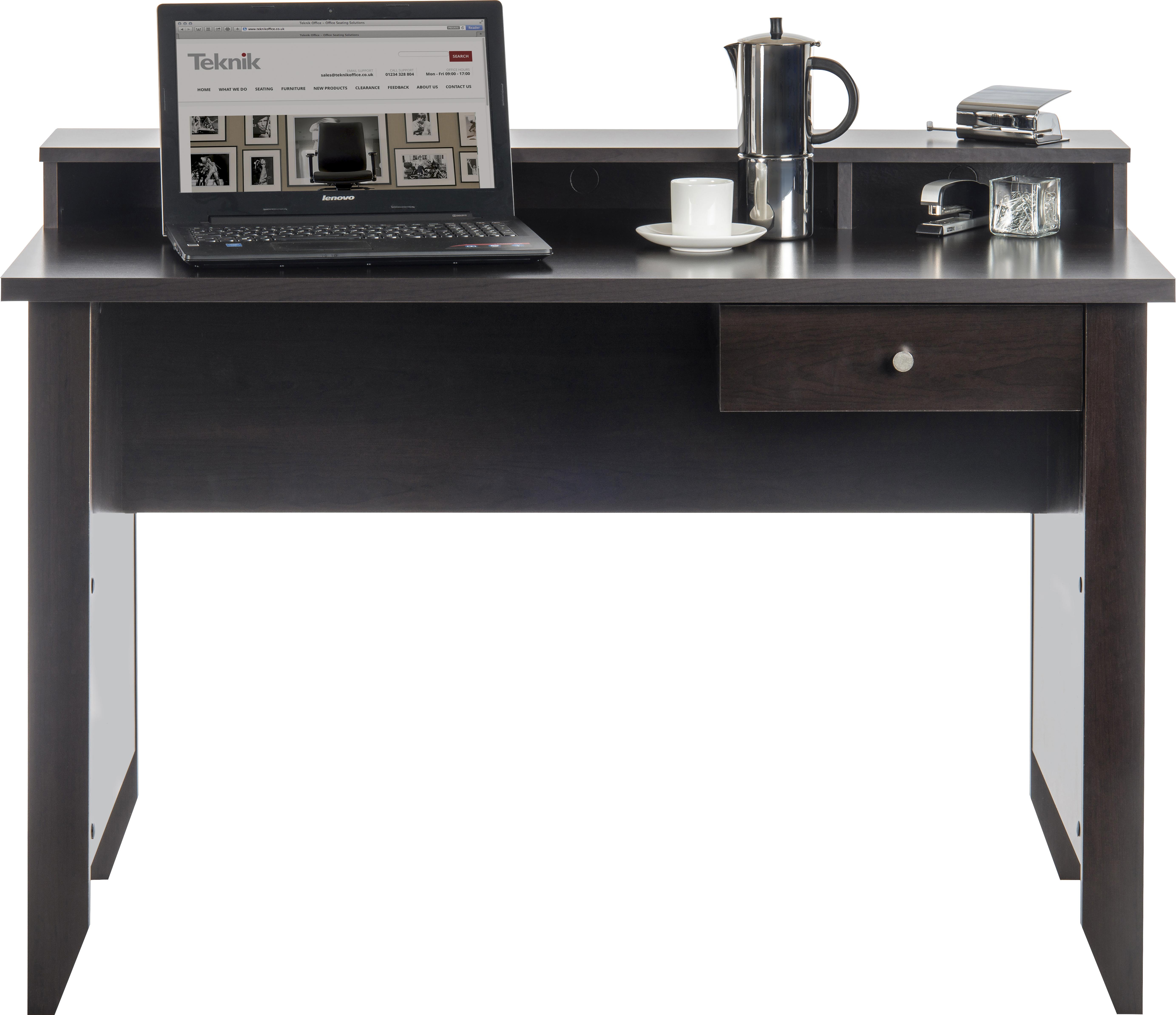 Teknik Office Cinnamon Cherry Effect Home Office Writing Desk ...