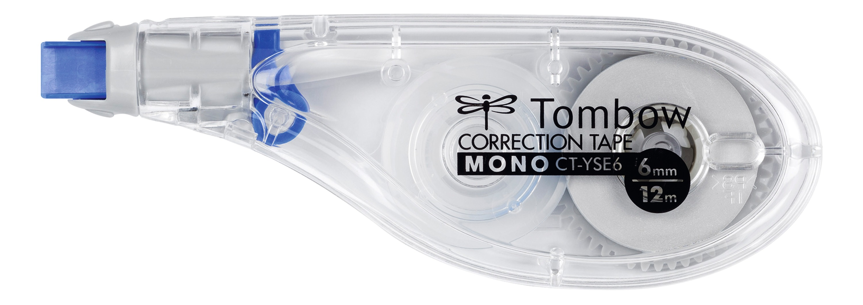 Correction Tape Tombow MONO YSE6 Correction Tape Roller 6mmx12m White