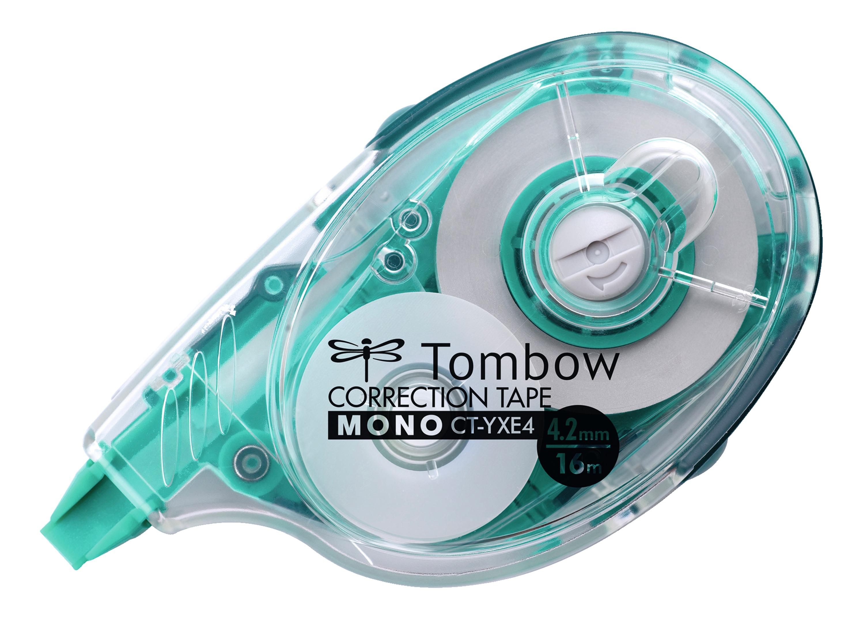 Correction Tape Tombow MONO YXE4 Refillable Correction Tape Roller 4.2mmx16m White