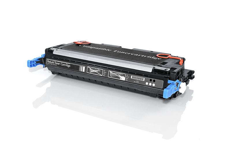 Compat HP Q6470A 501A/Canon 717 Blk 6kPg