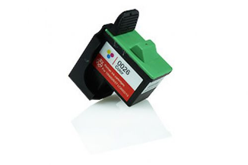 Compatible Lexmark 10N0026E 26 Colour 275 Page Yield