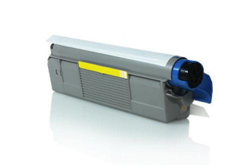 Compatible OKI C610 Yellow 44315305 6000 Page Yield