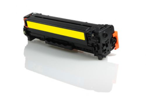 Compatible HP CC532A 304A / Canon 718 Yellow 2800 Page Yield
