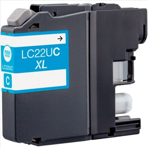 Compatible Brother CLC22UXL Cyan 1200 Page Yield