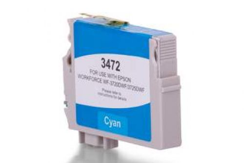Compatible Epson T3472 34XL Cyan 950 Page Yield