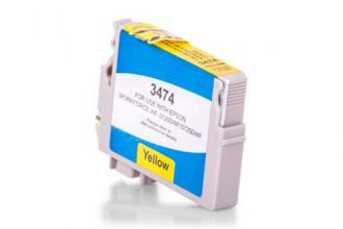 Compatible Epson T3474 34XL Yellow 950 Page Yield