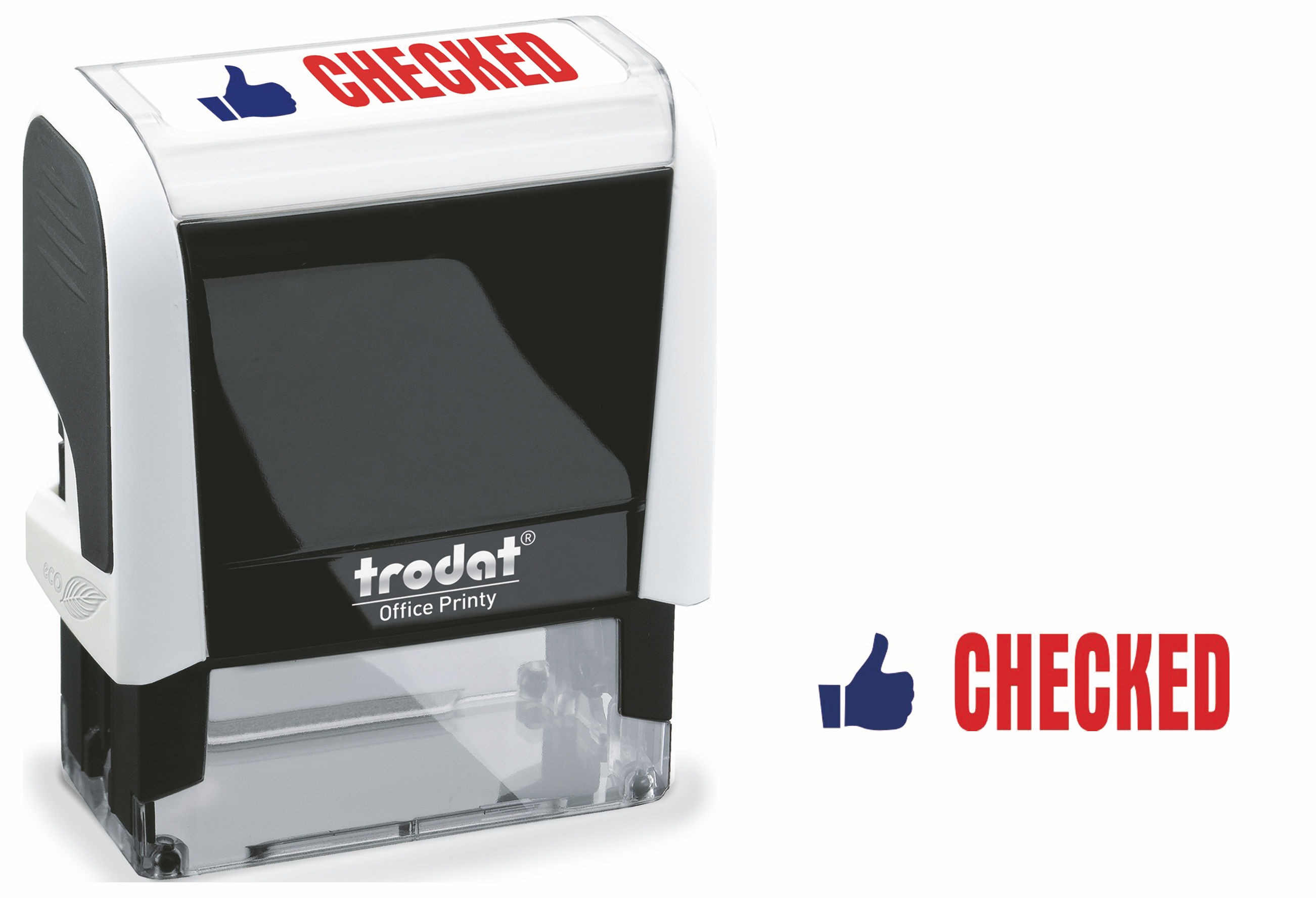 Stamps Trodat Office Printy 4912 White CHECKED