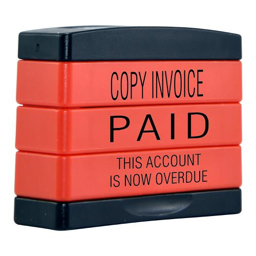 Trodat 3-in-1 Stampstack Accounts - Copy Invoice - Paid - this Account is Now Overdue