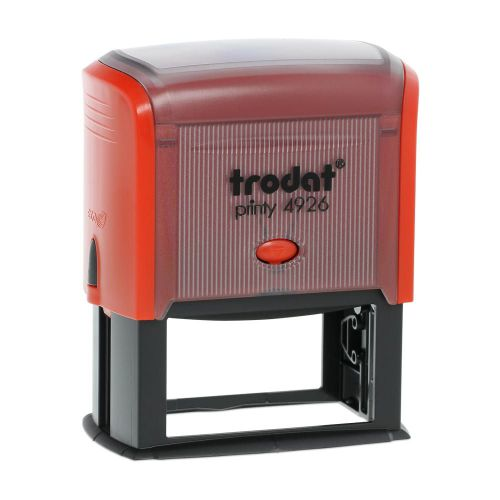 Trodat Printy 4926 Self Inking Custom Stamp. Imprint Area 72 x 35 mm