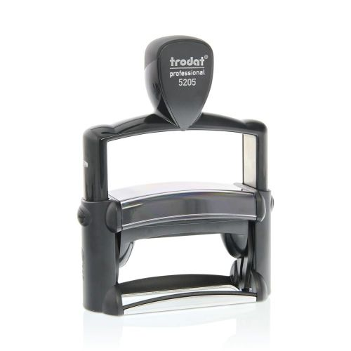 Trodat 5205 Professional 4.0 Self Inking Custom Stamp. Imprint Area 68 x 24 mm - 6 lines maximum