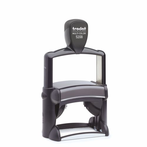 Trodat Professional 5208 Self Inking Custom Stamp. Imprint Area 67 x 46 mm - 10 lines maximum
