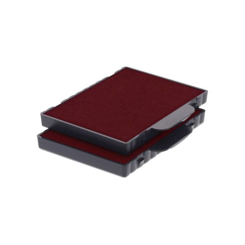 Trodat 6/4512 Replacement Ink Pad For Professional 5212 and 54120 - Red (Pack of 2)