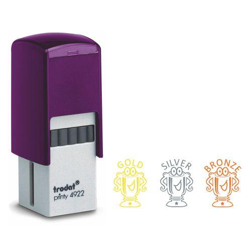 Trodat Printy Teacher Stamp - Trophy set of 3