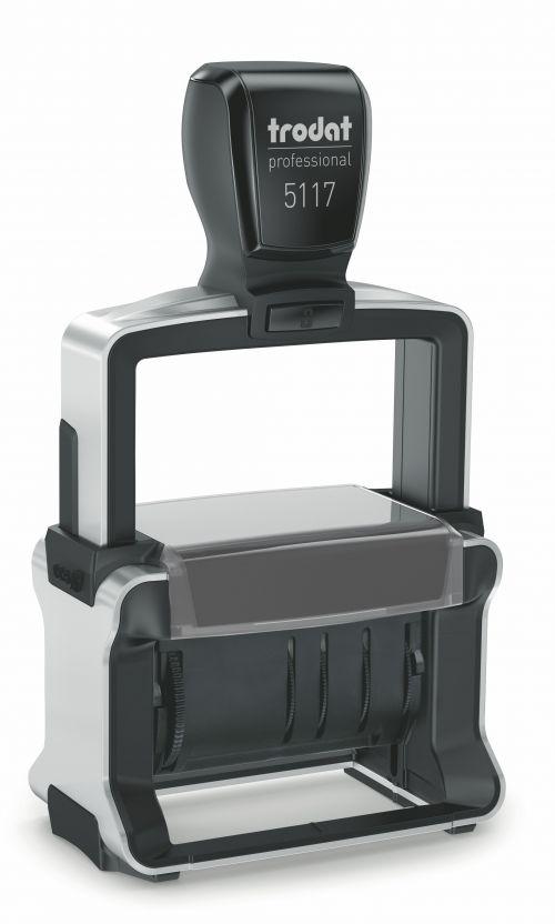 Trodat New Professional 5117 Self-inking Dater 4mm