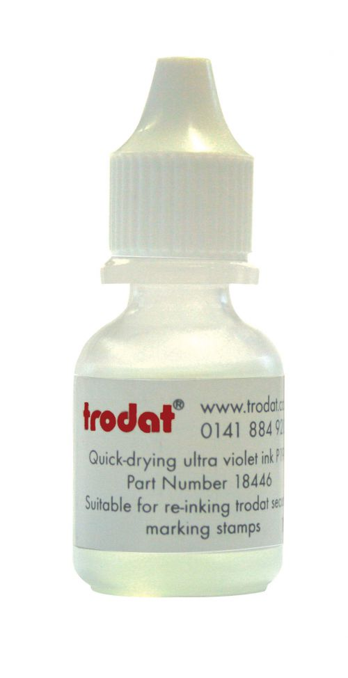 Trodat Ultra Violet Quick Drying  Ink - 10ml