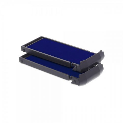 Trodat 6/9412 Replacement Ink pad (Blue) - This ink pad comes in a pack of 2 to extend the life of your Mobile Printy 9412 self-inking stamp.