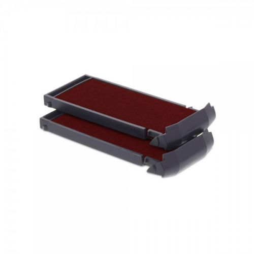 Trodat 6/9412 Replacement Ink pad (Red) - This ink pad comes in a pack of 2 to extend the life of your Mobile Printy 9412 self-inking stamp.