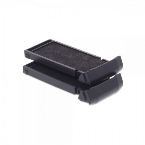 Trodat 6/9411 Replacement Ink pad (Black) - This ink pad comes in a pack of 2 to extend the life of your Mobile Printy 9411 self-inking stamp.