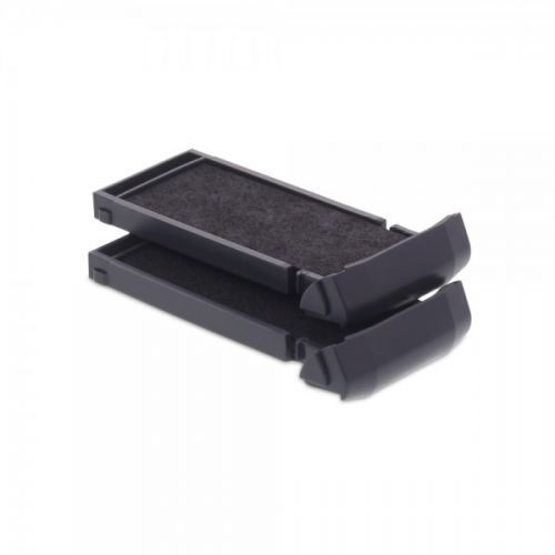 Trodat 6/9411 Replacement Ink pad (Violet) - This ink pad comes in a pack of 2 to extend the life of your Mobile Printy 9411 self-inking stamp.