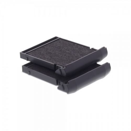 Trodat 6/9430 Replacement Ink pad (Black) - This ink pad comes in a pack of 2 to extend the life of your Mobile Printy 9430 self-inking stamp.