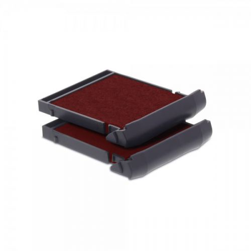 Trodat 6/9430 Replacement Ink pad (Red) - This ink pad comes in a pack of 2 to extend the life of your Mobile Printy 9430 self-inking stamp.