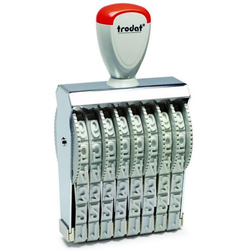 Trodat Classic Line 15188 Numberer Stamp 18mm Characters