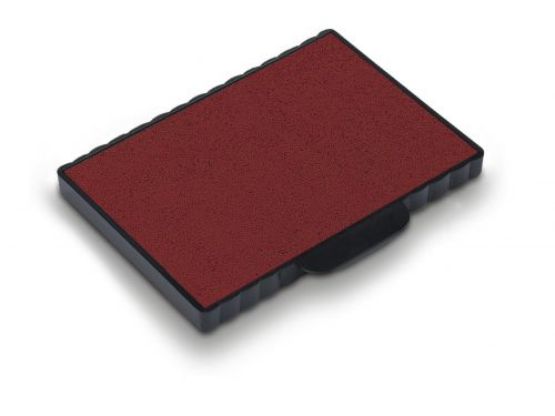 Trodat 6/511 Replacement Ink pad (Red) - This ink pad comes in a pack of 2 to further extend the life of your Professional 5211 self-inking stamp.
