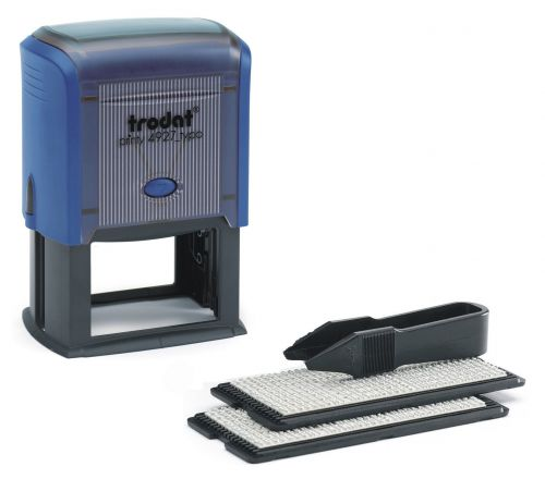 Trodat Printy Typo 4927  D.I.Y Self-inking Rubber Stamp - This stamp creates up to 8 lines of customised text, great for professional use.