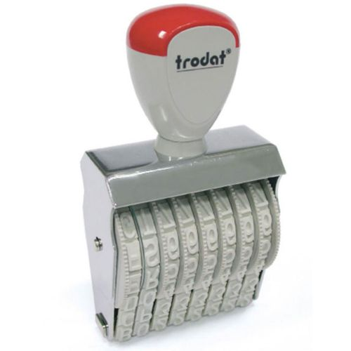 Trodat Classic Line 15310 Numberer - This stamp features 10 adjustable bands each with a character size of 3mm perfect for use at a large event.